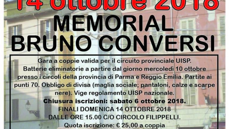 1^ Gara Provinciale a coppie – Circolo Filippelli 14 ottobre