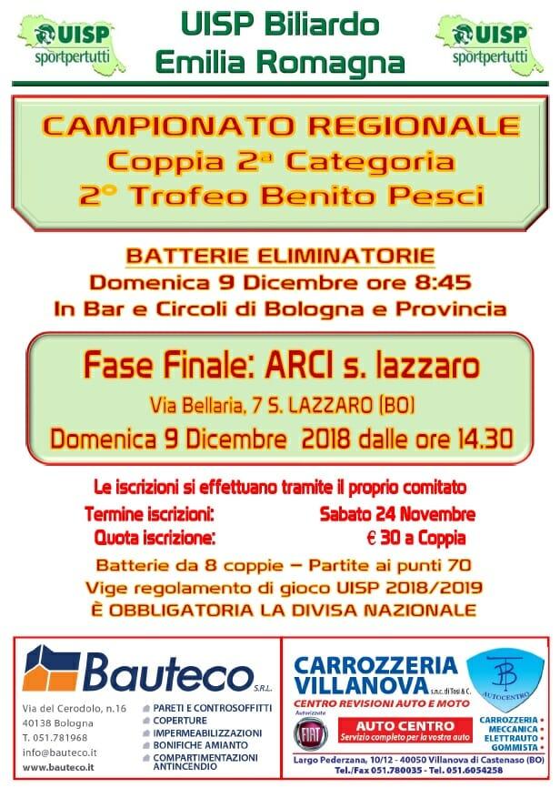Campionato Regionale Coppia 2^ Categoria