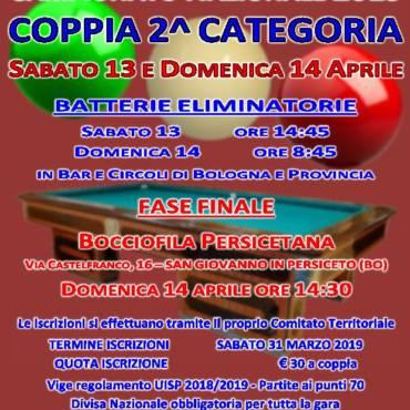 Campionato Nazionale Coppia 2^ Categoria
